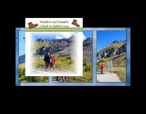 Wandern und geniessen in Südtirol 2014