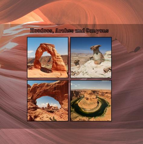 """Hoodoos, Arches und Canyons "" - unser CEWE FOTOBUCH des Monats Januar"