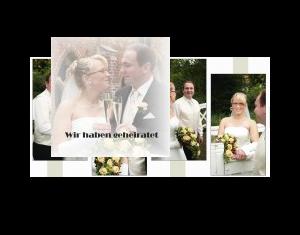Wir haben geheiratet