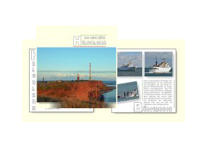 Helgoland und seine Düne