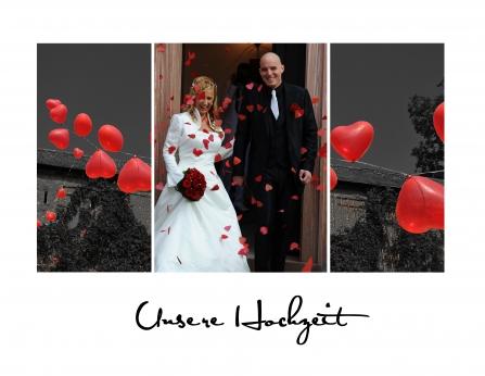 """""""Unsere Hochzeit """" - CEWE FOTOBUCH des Monats April"""