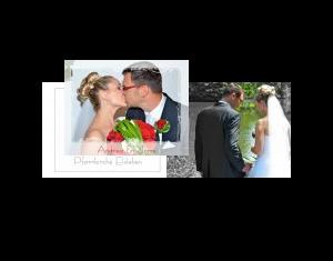 Beispiel: Hochzeitsfotobuch Groß