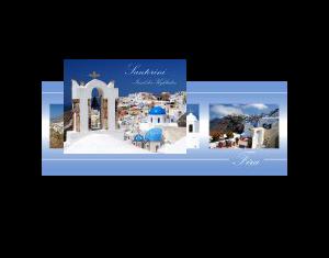 Santorini Insel der Kykladen