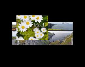 Irland - Panoramen und Blumen