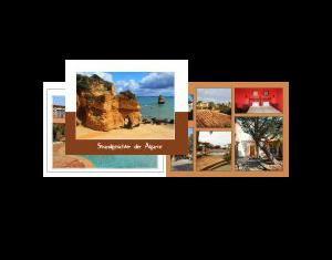 Strandgesichter der Algarve