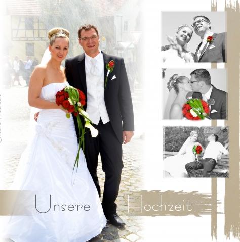 Fotobuch Als Hochzeitsfotobuch Beispiele Cewe