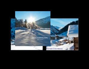Winterwelten auf Fotopapier