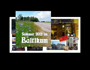 Sommer 2012 im Baltikum
