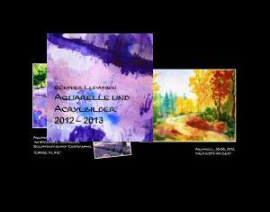 Aquarelle und Acrylbilder