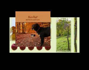 Herbst mit Kira und Leni