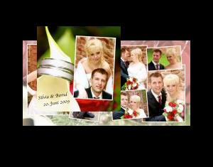 Hochzeitsfotobuch von Silvia und Bernd