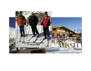 Skiausfahrt in der Lenzerheide