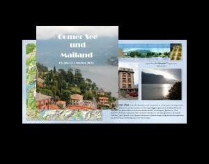 Comer See und Mailand