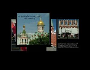 Mit dem Schiff von Moskau nach Sankt Petersburg